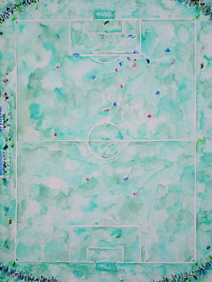 Pitch Painting - Soccer 'em All by Fabrizio Cassetta