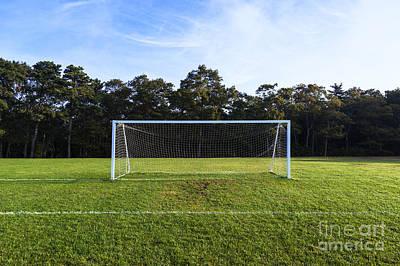 Soccer Goal Print by John Greim