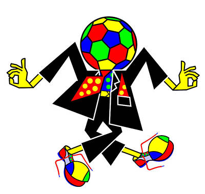 Digital Art - Soccer Players Might Prefer To Skip Dancing  by Asbjorn Lonvig