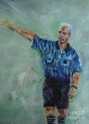 Painting - Soccer Referee by Vicki Wynberg