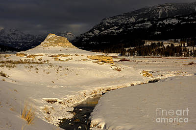 Soda Butte Yellowstone Print by Deby Dixon