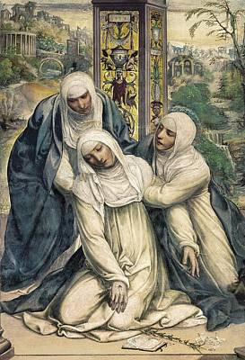Saint Catherine Of Siena Chapel Photograph - Sodoma, Giovanni Antonio Bazzi by Everett