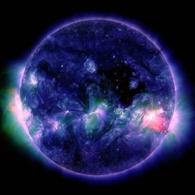 Disc Photograph - Solar Flare by Nasa/sdo