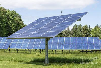 Solar Panels Print by Edward Fielding
