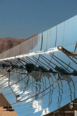 Solar Power Plant Print by Jim West