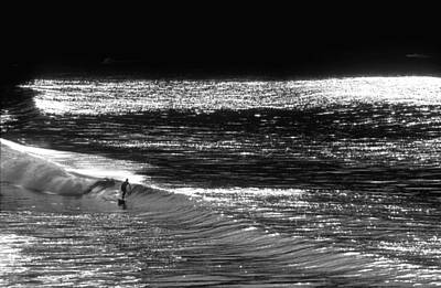 At Sea Photograph - Solitary Glass by Sean Davey