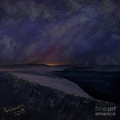 Sand Dunes Photograph - Solitude by Arne Hansen