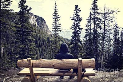 Contemplative Photograph - Solitude by Ivy Ho