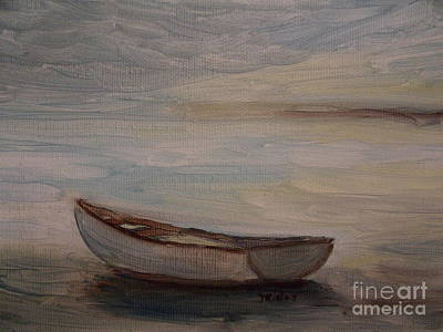Dingy Painting - Solitude by Julie Brugh Riffey