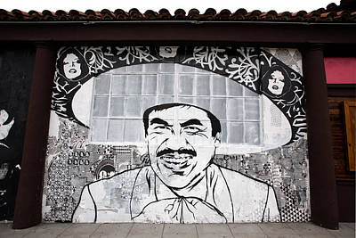 Wall Mural Photograph - Sombrero by Peter Tellone