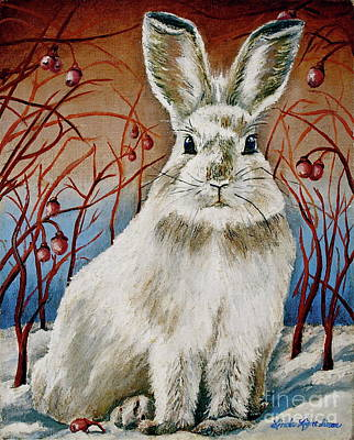 Some Bunny Is Charming Print by Linda Simon