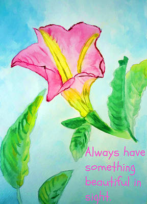 Pharmacy Painting - Something Beautiful by Jo Ann