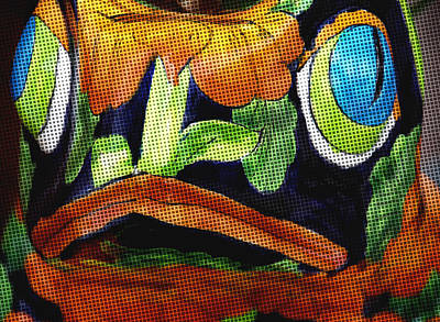 Ceramic Mixed Media - Somethings Fishey by Rosalie Scanlon