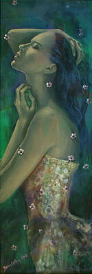 Dreams Painting - Sometimes I Feel So Temporary... by Dorina  Costras