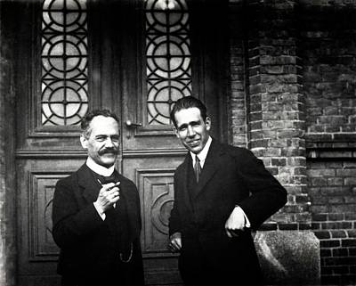 Physicist Photograph - Sommerfeld And Bohr by American Philosophical Society