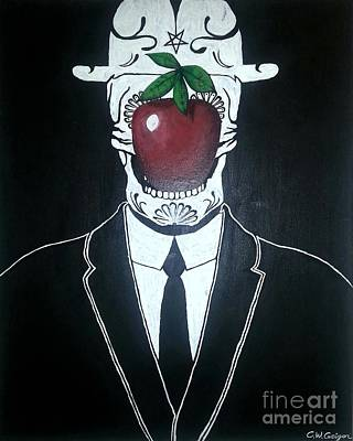 Rene Magritte Painting - Son Of The Dead by Collin Geiger