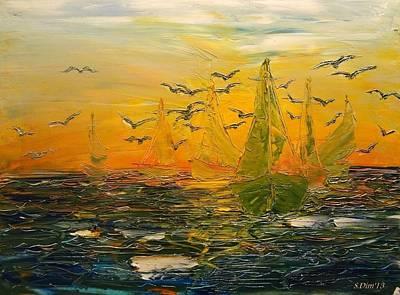 Song Of The Wind Print by Svetla Dimitrova