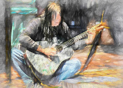 Protest Painting - Songs From The Street by Bob Orsillo