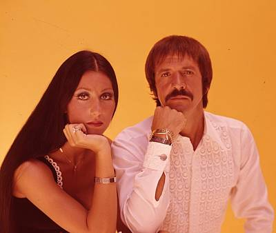 Cher Photograph - Sonny And Cher by Retro Images Archive