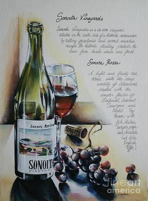 Sonoita Vineyards Print by Alessandra Andrisani