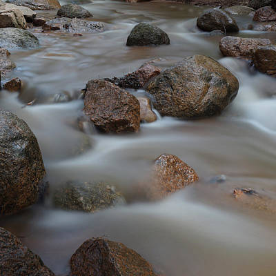 Soothing Waters 2 Print by Ernie Echols