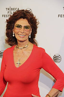 Sophia Loren Print by Manny Zoom