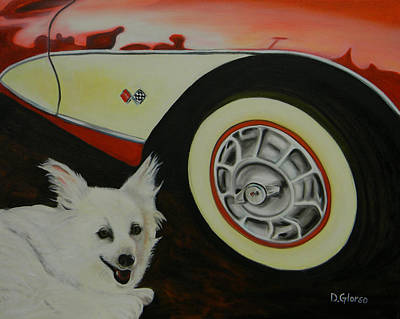 Sports Artist Painting - Sophie At The Vett by Dean Glorso