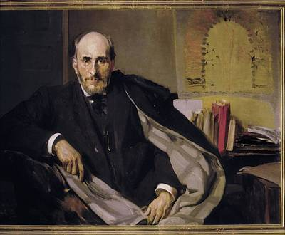 Cajal Photograph - Sorolla, Joaqu�n 1863-1923. Doctor by Everett
