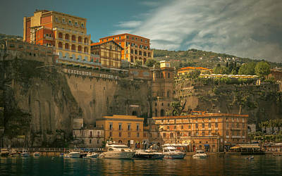 Sorrento Print by Chris Fletcher