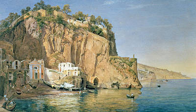 Italian Landscapes Painting - Sorrento by Emanuel Stockler