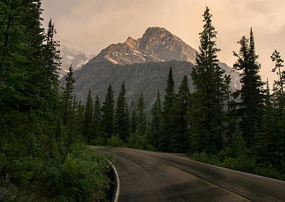Curving Road Photograph - Sorrow Peak  by Cale Best