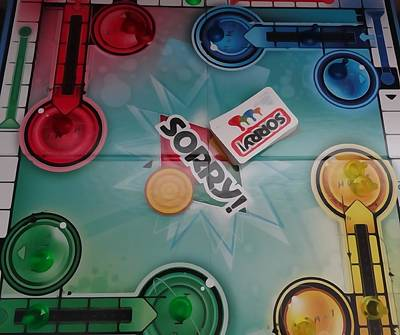 Sorry Board Game Print by Dan Sproul