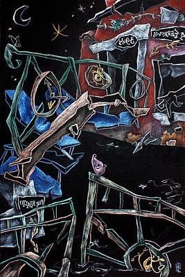 Venecia Pastel - Sott'acqua - Surrealism Art Fantasy Illustration by Arte Venezia