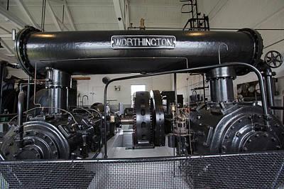 Soudan Mine Engine House Print by Jim West