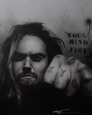 Max Calavera - ' Soul Mind Fist ' Original by Christian Chapman Art
