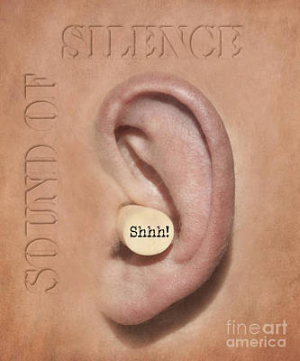 Plug Photograph - Sound Of Silence by Juli Scalzi