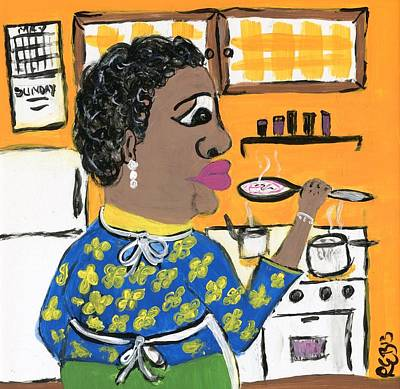 African-american Drawing - Soup Coolers by The Robert Blount Collection