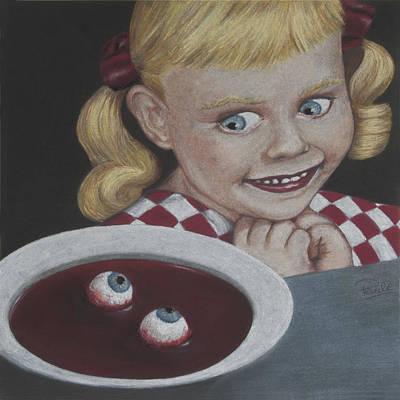 Soup Print by Paulie Polka
