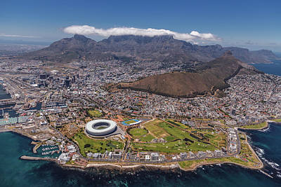 Aerial Photograph - South Africa - Cape Town by Michael Jurek