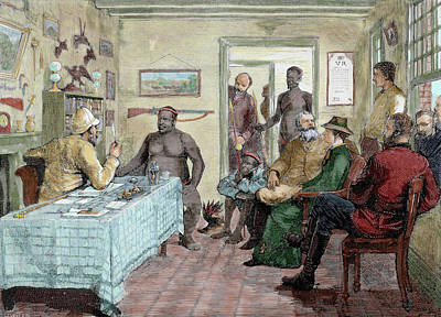 South Africa Conference Held Print by Prisma Archivo