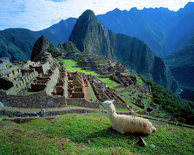 Ancient Civilization Photograph - South America, Peru by Jaynes Gallery