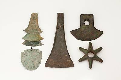 Artefact Photograph - South American Bronze Age Objects by Paul D Stewart