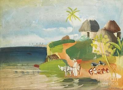 America Painting - South American Landscape by Celestial Images