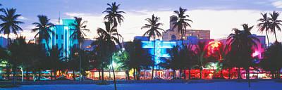 South Beach Miami Beach Florida Usa Print by Panoramic Images