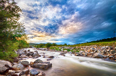South Boulder Creek Sunset View Rollinsville Colorado Print by James BO  Insogna