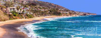 Laguna Beach Photograph - South Laguna Beach Coast by Jim Carrell