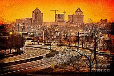 South On 220 - Greensboro Print by Dan Carmichael
