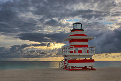 Photograph - South Pointe Park Lighthouse by Claudia Domenig