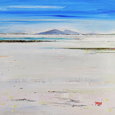 Scotland Painting - South Uist Sands by Peter Tarrant