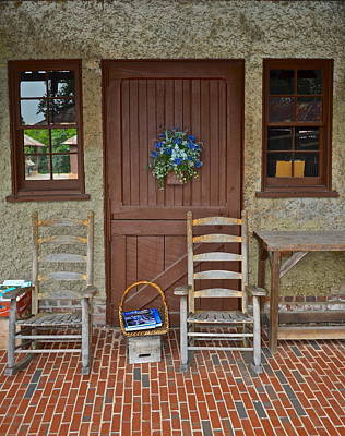 Rocking Chairs Photograph - Southern Charm by Frozen in Time Fine Art Photography